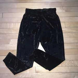 Kendall and Kylie Velvet Joggers